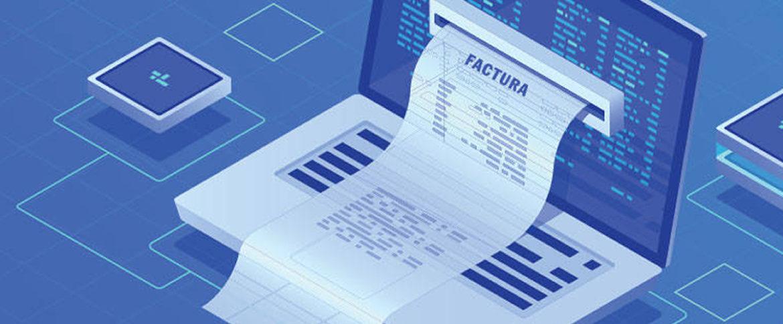 imagen de factura electrónica sistema